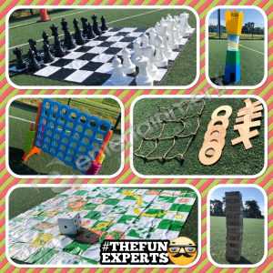 Garden Games hire Dublin, Ireland Giant Chess, Giant Snakes and Ladders, Giant Connect 4, Giant Jenga, Giant Kerplunk, Giant X's & O's